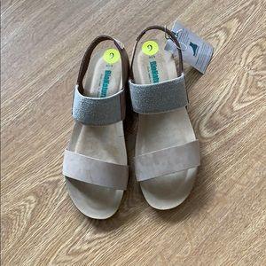 BioNatura Sandals Tan Nubuck Leather